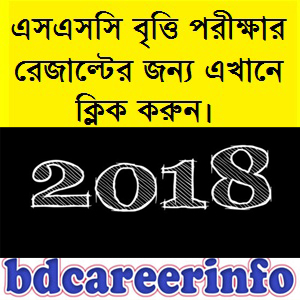 SSC Scholarship Result 2018