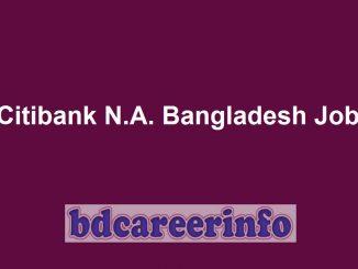Citibank N.A. Bangladesh Job Circular 2019