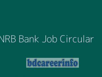 NRB Bank Job Circular 2020