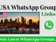 USA WhatsApp Group Link 2020 Latest WhatsApp Groups